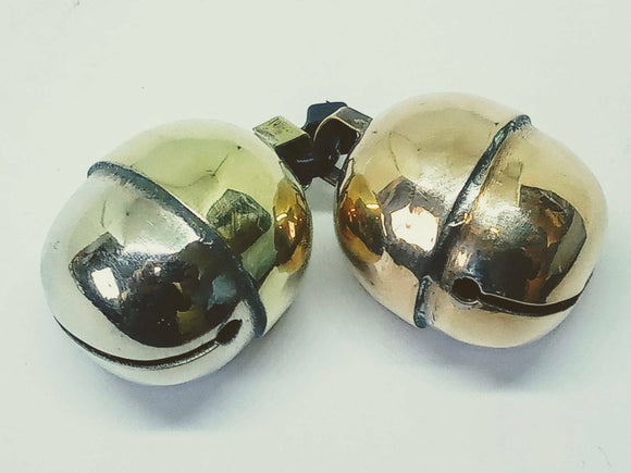 Crystal clear dual tone Acorn bells for Dogs