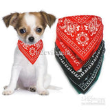 Dog collar with neckerchief scarf bandana