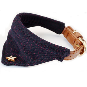 ARISTO Cat Luxury Tweed Bandana Collar for the uppercrust Puss