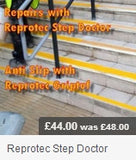 Step Edge Repair - Step Repairs - Fast