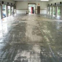 Reprotec Florprime Epoxy Primer - shows the different absorption of the  floor, a better finish will now be achieved