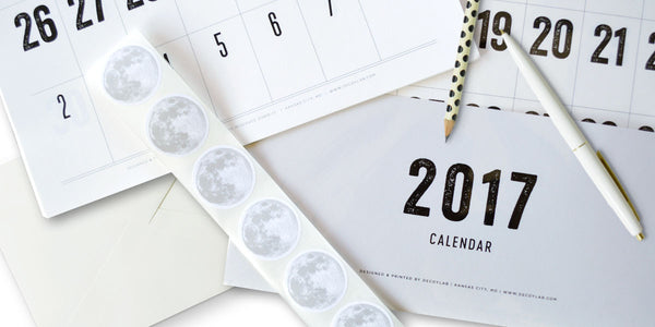 2017 Calendar is available NOW