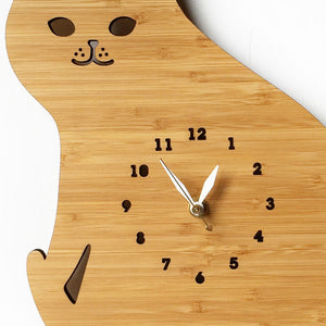 Cat Wall Clock