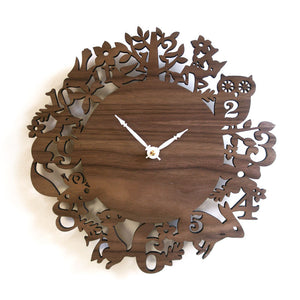 Forest Animal Clock