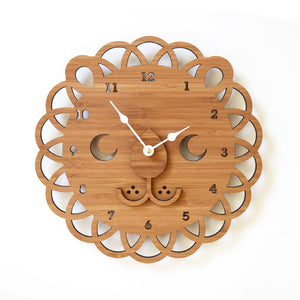 Lion Face Clock 11 inches