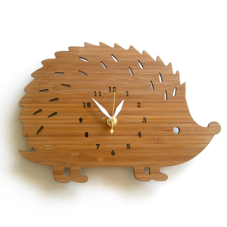 Hedgehog Wall Clock Large