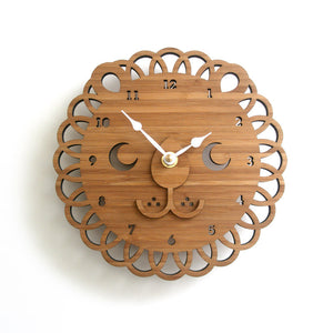 Lion Face Wall Clock
