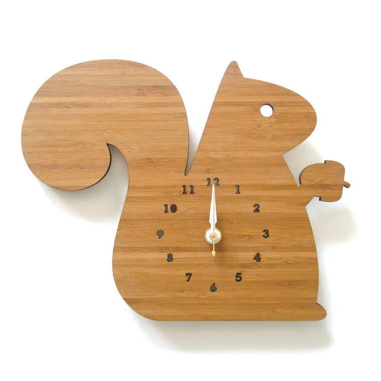 Squirrel Wall Clock Large