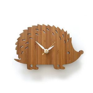 Hedgehog Wall Clock Small