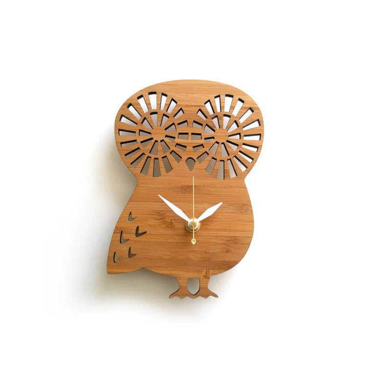 Owl Wall Clock Small
