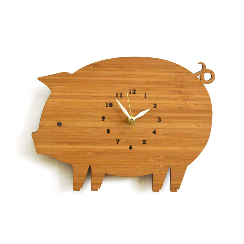 Piggy Wall Clock