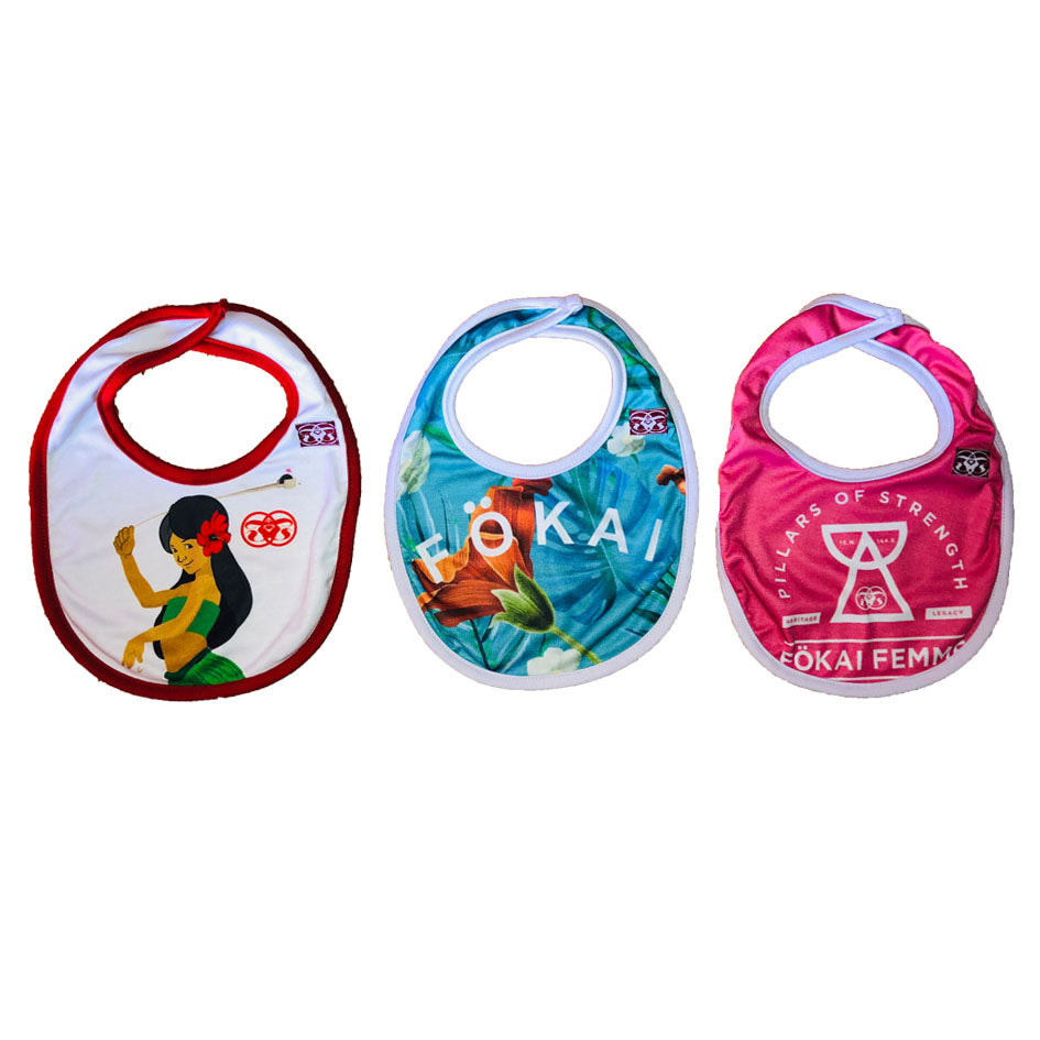 Toddler Girl Essential Bibs