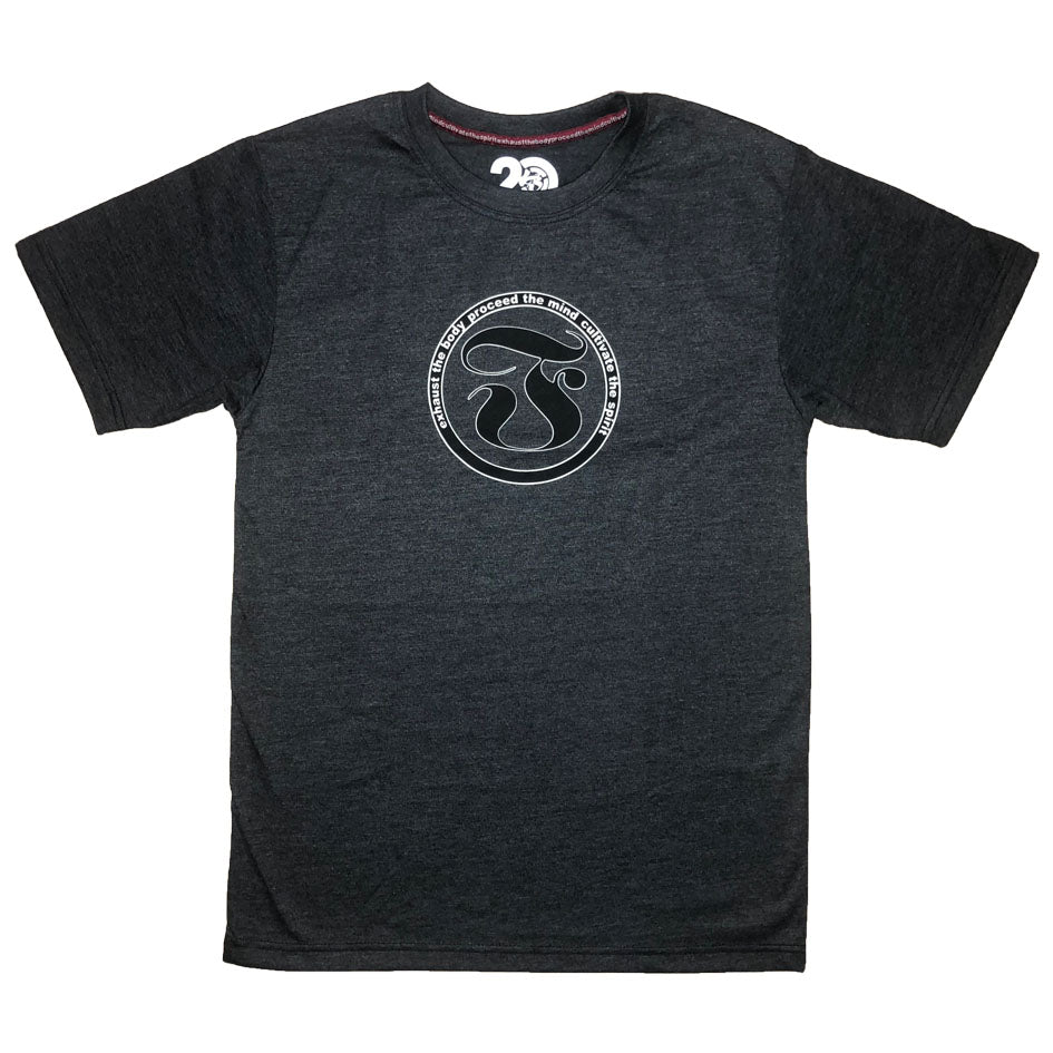 FCircle Creed Classic Tee-Charcoal Gray