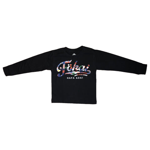Youth Hafa Adai World Longsleeve