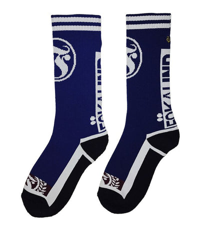 The Blue Fökai Sock