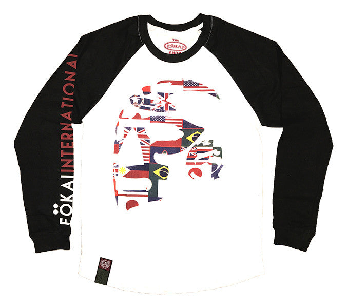 International Captain 3 Quarter Raglan