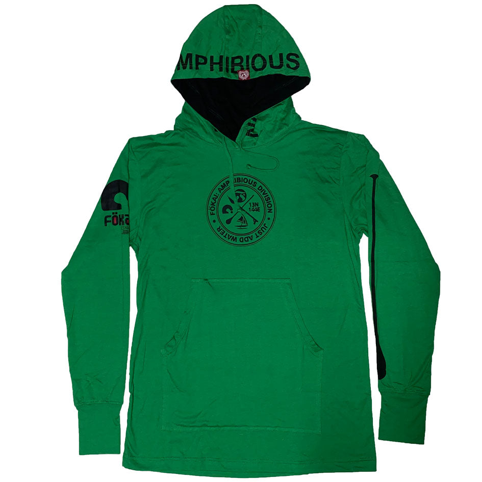 COMFORT SHIELD:ULTRA SOFT BAMBOO POCKET PULLOVER GREEN