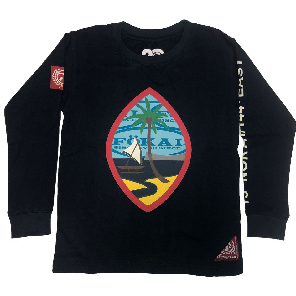 Youth Authentic Seal Longsleeve-navy