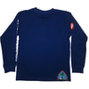 Youth Authentic Seal Longsleeve-Blue