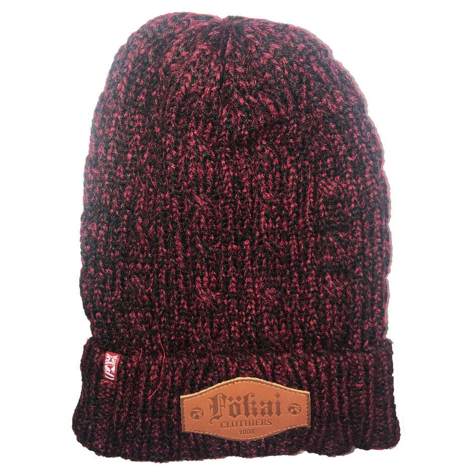 ComfortZone Cool Weather Beanie-Maroon