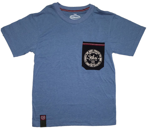 PocketFamily Sof-tee Blue