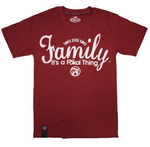 The Fokai Thing Tee-Red