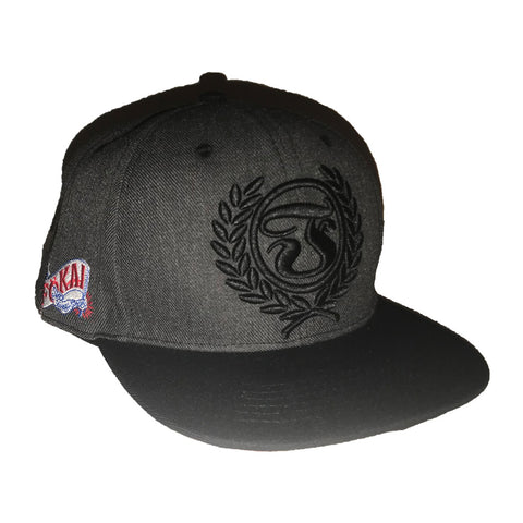 Strong arm hat-charcoal gray