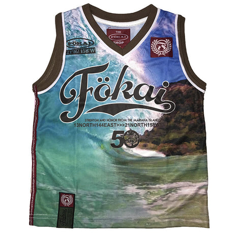 Youth Fokai50 Shorebreak Tank