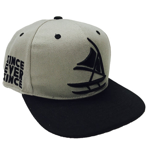 The Voyager Gray Snapback