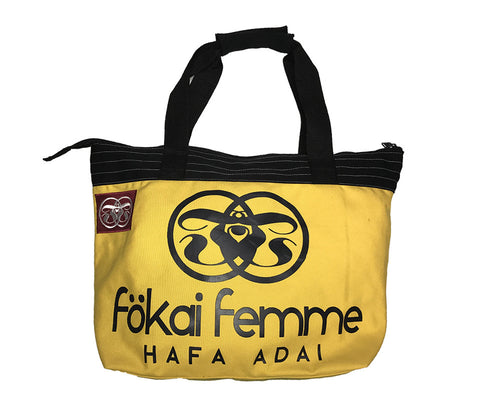 FF Canvas Standard Tote SunFlower