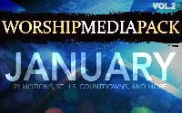 Jan Vol 2 - Worship Media Pack