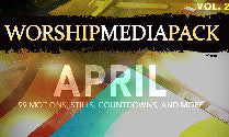 Apr Vol 2 - Worship Media Pack