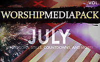 July Vol 2 - Worship Media Pack