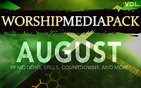 August Vol 2 - Worship Media Pack