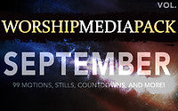 September Vol 2 - Worship Media Pack