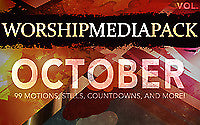 October Vol 2 - Worship Media Pack