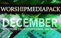 December Vol 3 - Worship Media Pack