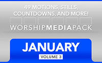 January Vol 3 - Worship Media Pack