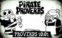 Pirate Proverbs 10:01