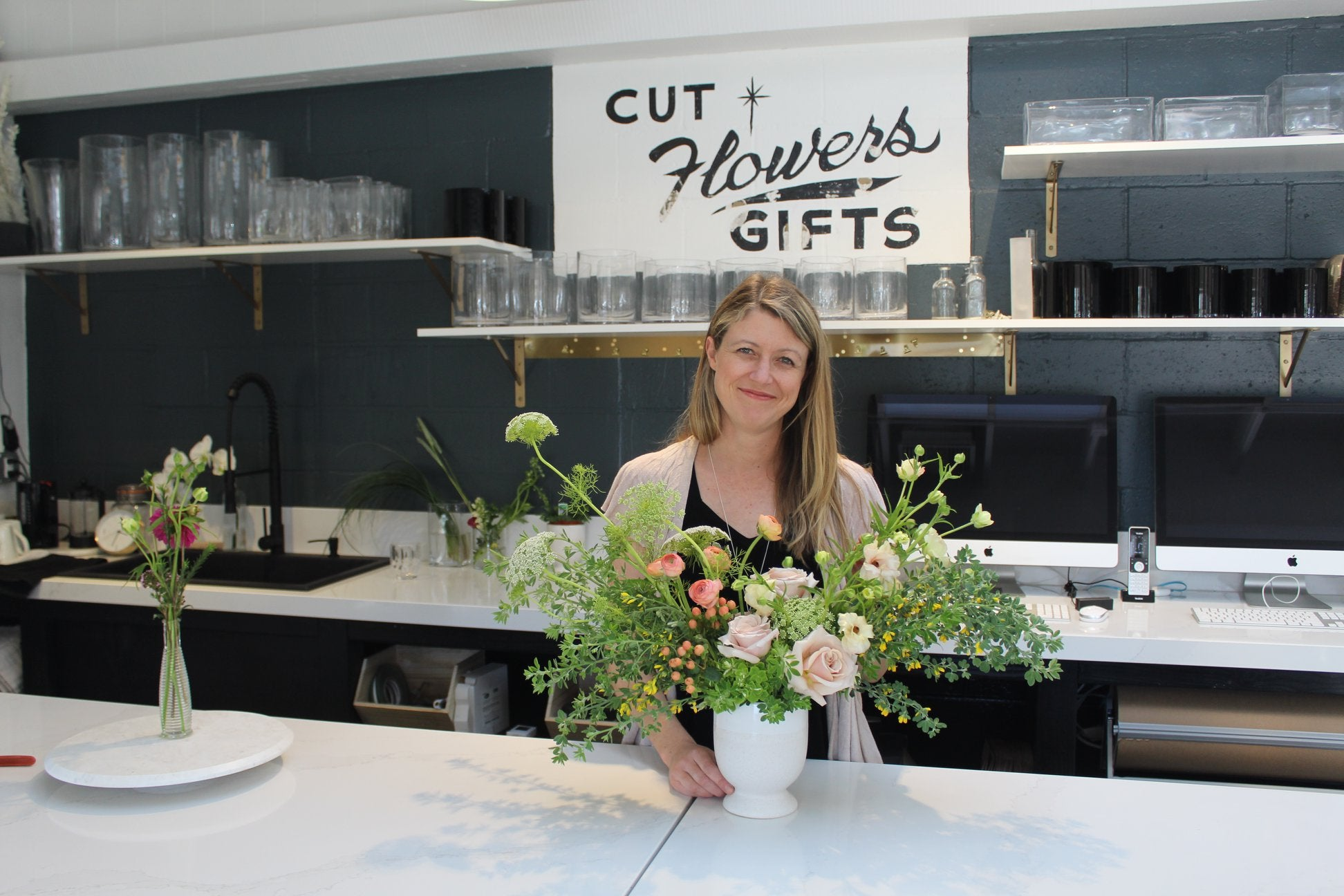 Jennifer Jensen of Third Bloom A New Florist in Rancho Santa Fe