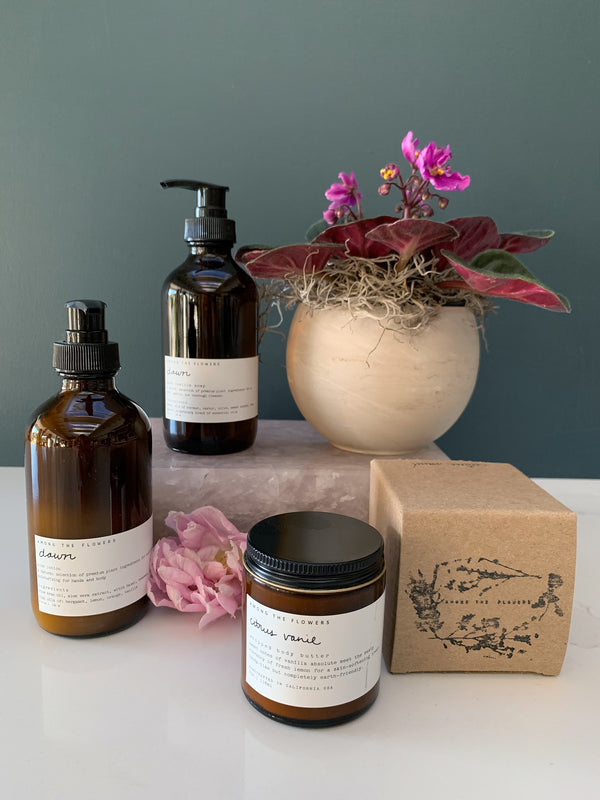 Among the Flowers Soap & Lotion Gift Set