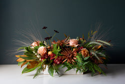 Fall Floral Centerpiece by Best Rancho Santa Fe Florist