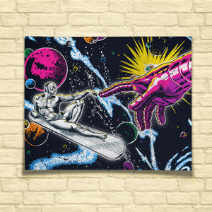 Creation of Silver Surfer