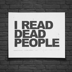 I Read Dead People