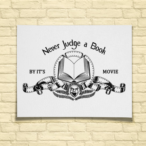 Never Judge a Book