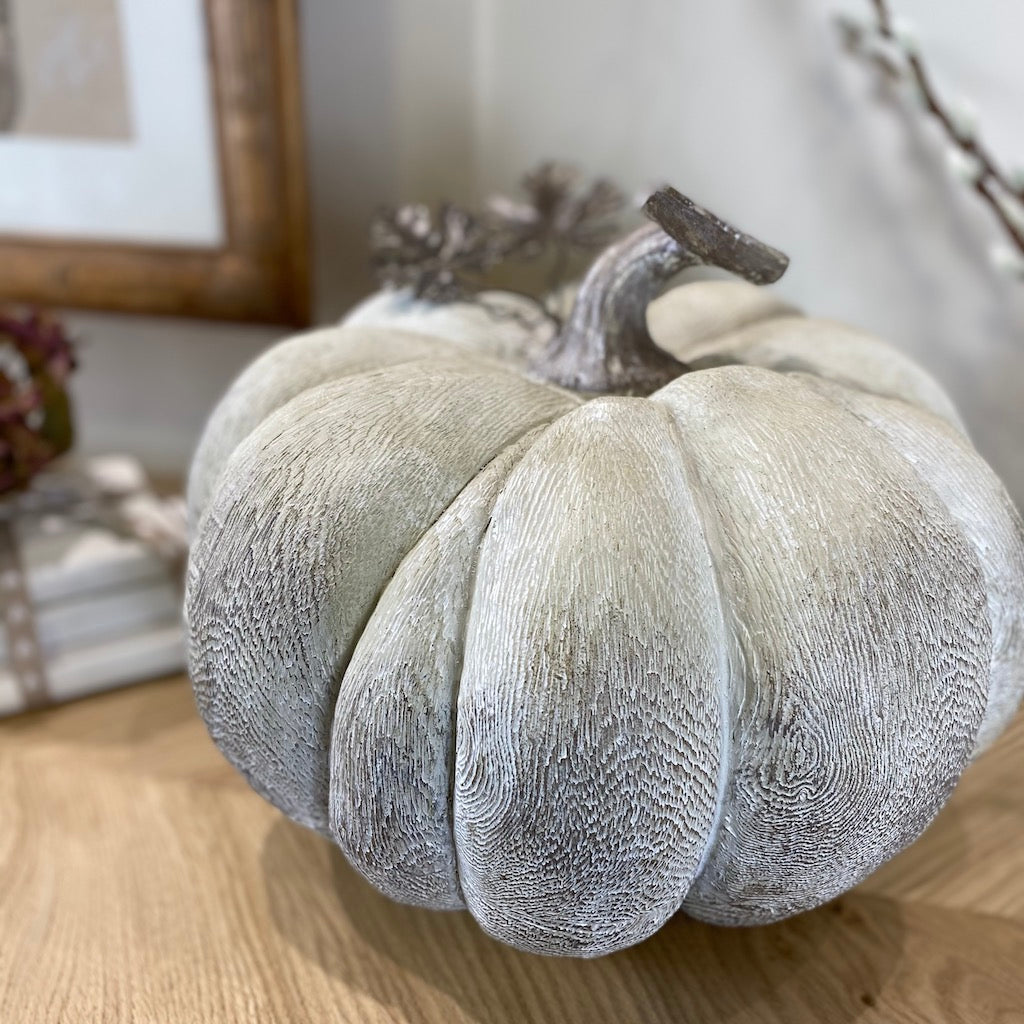 Large Decorative Squash Pumpkin