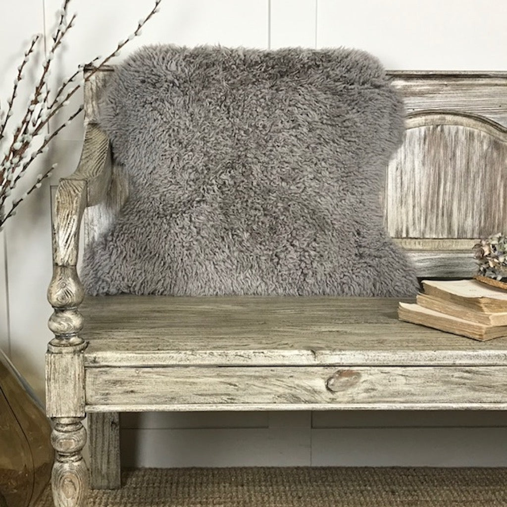 Luxury Truffle Curly Sheepskin Rug