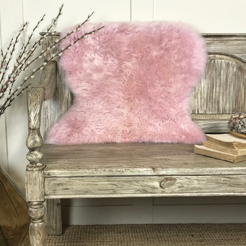 Luxury Powder Pink Sheepskin Rugs