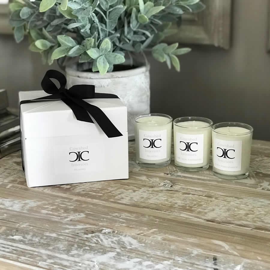 Cowshed Interiors Candles Votive Set 3