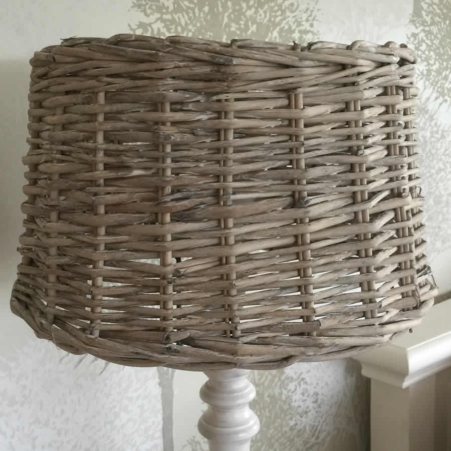 Wicker coastal table lamp shade cowshed interiors wicker coastal table lamp shade aloadofball Gallery